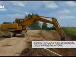 Riebiņu novadā tiek atjaunota ceļu infrastruktūra