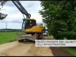 Pelēču pagastā tiek uzlabotu ceļu infrastruktūra