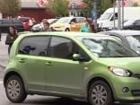 Rīgas centrā notriekta meitene
