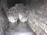 В лондонской канализации образовался гигантский засор