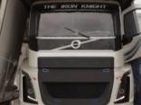 Pasaulē ātrākā kravas automašīna «Dzelzs bruņinieks» viesojas Rīgā