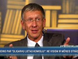 Judins: ir sajūta, ka komisijas darbs veidots, lai attaisnotu oligarhu lietā figurējošos