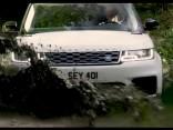 Jaunā Range Rover Sport dinamiskie kadri