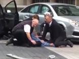 Londonā automašīnai uzbraucot gājējiem, cietuši 11 cilvēki