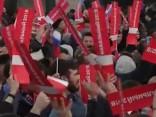 Sanktpēterburgā Putina dzimšanas dienā aizturēti vismaz 66 protestētāji