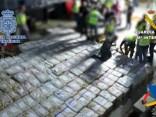 Spānijas policija konfiscē rekordlielu kokaīna kravu