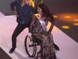 Skaistākā meitene ratiņkrēslā