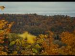 Noskaties: Siguldas rudenīgais skaistums no putna lidojuma