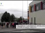 Salaspils 1.vidusskola ar salidojumu atzīmē 50.gadu jubileju