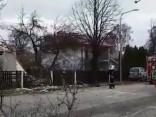 Valmierā divstāvu ēkā noticis sprādziens