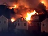 Veco ļaužu pansionātā ASV izcēlies liels ugunsgrēks