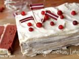 Торт в честь Латвии