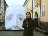 """Noskaties, kā top vējainākais festivāla """"Staro Rīga"""" objekts"""