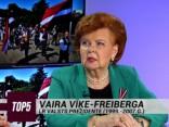 """Vaira Vīķe-Freiberga: """"Mums nav izmantoti visi cilvēkresursi, kas valstī šobrīd atrodas"""