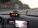 Ceļu policija akcijā kontrolē pareizu braukšanas joslu izvēli