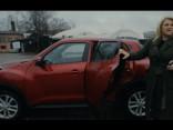 Indra Salceviča testē Nissan Juke