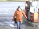 Aizdomās par regulārām degvielas zādzībām Valsts policija meklē vīrieti