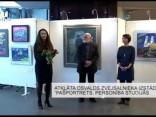"""Atklāta Osvalds Zvejsalnieka izstāde """"Pašportrets. Personība studijās"""""""