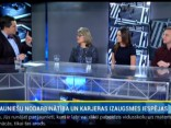 Viesi: Stepans Sotskovs, Elīna Purmale-Baumane, Baiba Muceniece