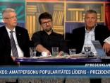 """""""Preses Klubā"""" viesos: Valdis Zatlers, Ēriks Stendzinieks, Ojārs Kehris"""
