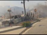 Kalifornijā dzēš milzīgu savvaļas ugunsgrēku
