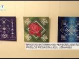 Brigitas Ektermanes personālizstāde Preiļos piesaista lielu uzmanību
