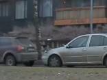 Bariņš bezkaunīgu vārnu plēš nost policijas uzlīmēto «plāksteri»