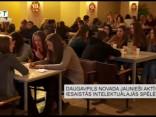Daugavpils novada jaunieši aktīvi iesaistās intelektuālajās spēlēs
