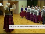 Ciblas novada amatierkolektīviem jauni tērpi