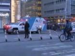 Manhetenas autoostā nograndis sprādziens