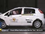 Fiat Punto EuroNCAP testā