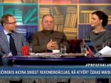 """""""Preses Klubā"""" viesos: Andris Sprūds, Māris Gailis, Jūlija Stepaņenko"""