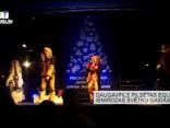 Daugavpils pilsētas egle iemirdzas svētku gaidās