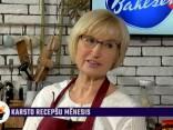 Ingrīda Circene gatavo lečo - karstu ēdienu ar asām garšvielām