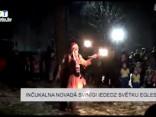Inčukalna novadā svinīgi iededz svētku egles