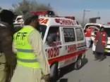Sprādziens dievkalpojuma laikā Pakistānā