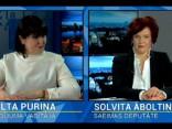 """""""Dienas personībā"""" viesos Solvita Āboltiņa"""