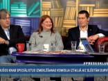 """""""Preses Klubā"""" viesos: Juris Jurašs, Arno Jundze, Gunta Līdaka"""
