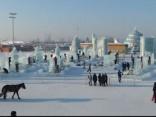 Ledusskulptūru festivāls Ķīnā
