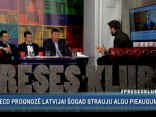 """""""Preses Klubā"""": Viesturs Silenieks, Krists Kalniņš, Aigars Kalvītis"""