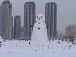 Снеговики в Китае
