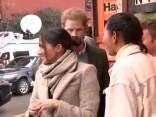 Megana Mārkla un princis Harijs viesojas Brikstonā