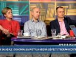 """""""Preses Klubā"""" viesos: Daniels Pavļuts, Ivars Zariņš, Sarmīte Ēlerte"""