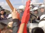 Grieķijā plašos protestos izceļas nekārtības