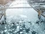 Pateicoties ziemai ASV nofilmēti neparasti kadri