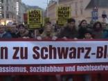 20 tūkstoši demonstrantu Vīnē protestē pret jauno valdības koalīciju