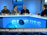 """Raidījumā """"Globuss"""": Jānis Matulis, Māris Andžāns, Lato Lapsa"""
