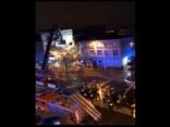Beļģijā sabrūkot ēkai, ievainoti varētu būt pat 20 cilvēki