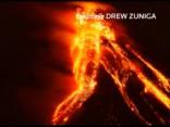 Iespaidīgs video: Filipīnu vulkāna izvirdums