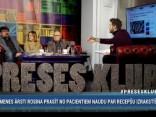 """""""Preses Klubā"""" viesos: Ēriks Stendzenieks, Valdis Keris, Solvita Olsena"""